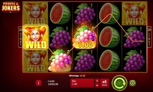 Fruits & Jokers slot UK