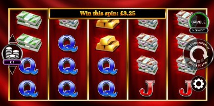 Gold Cash Free Spins slot UK