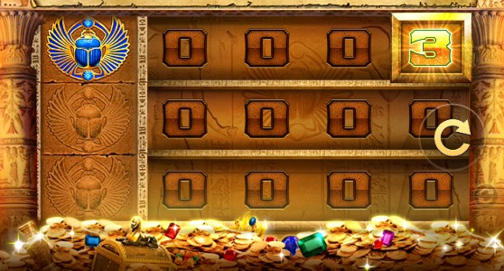 Golden Vault of the Pharaohs slot UK