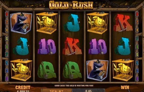 Gold Rush slot UK