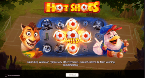 hot shot online slot