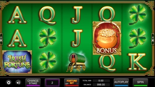Irish Fortune slot UK