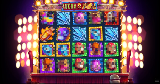 Lucha Rumble slot UK