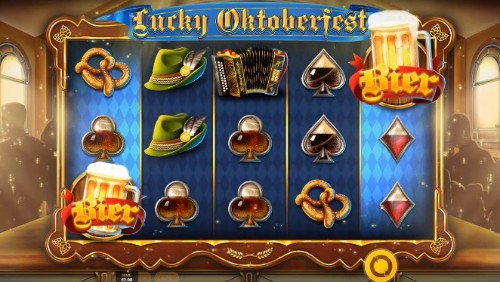 Lucky Oktoberfest slot UK