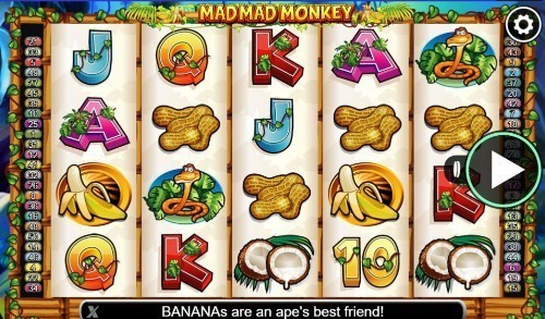 Mad Mad Monkey slot UK