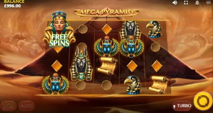 Mega Pyramid slot UK