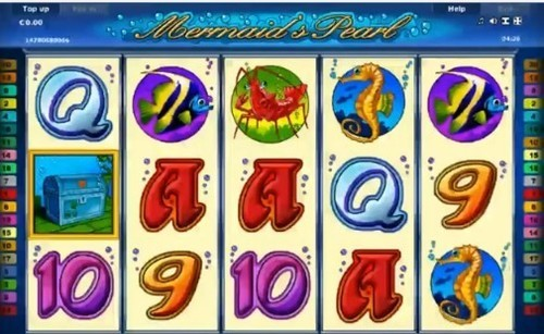 Mermaids Pearl slot UK