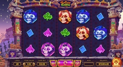 Pumpkin Smash slot UK