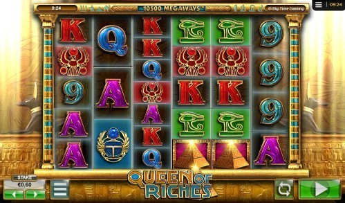 Queen Of Riches slot UK