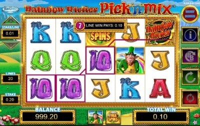 Rainbow Riches Pick N Mix uk slot