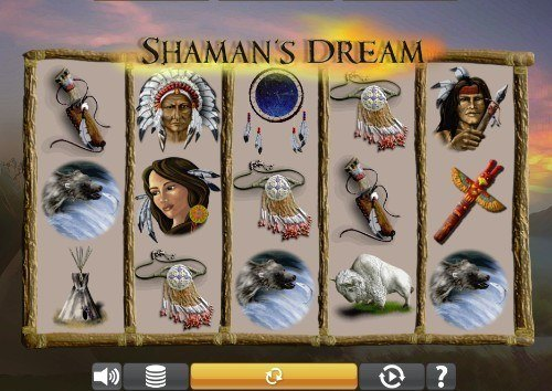 shamans dream slot UK