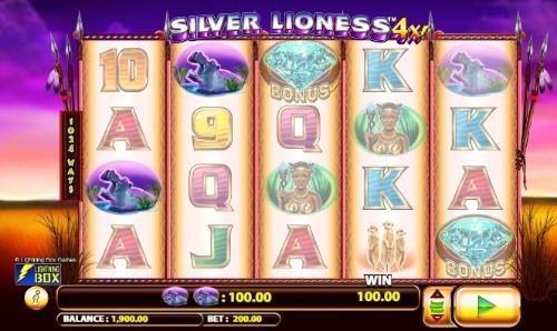 Silver Lioness 4x slot UK