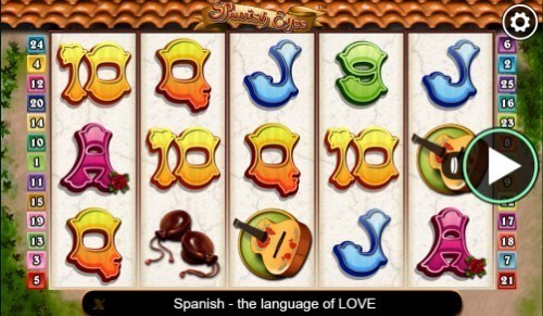 Spanish Eyes slot UK