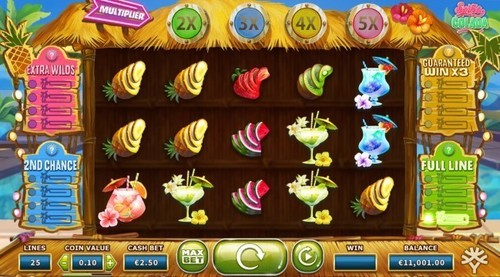 Spina Colada slot UK