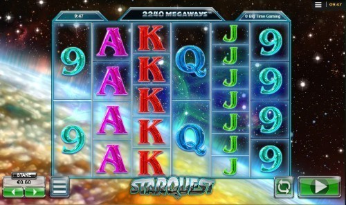 Star Quest slot UK