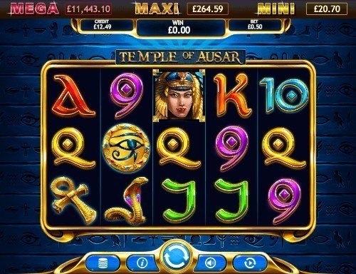 Temple Of Ausar Jackpot slot UK