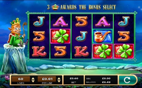 The Leprechaun King slot UK
