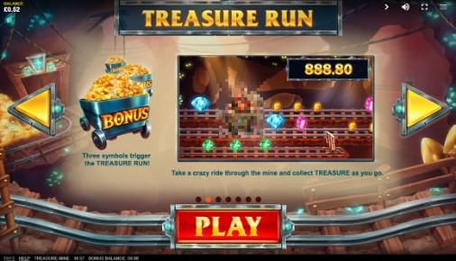 Treasure Mine Bonus Feature
