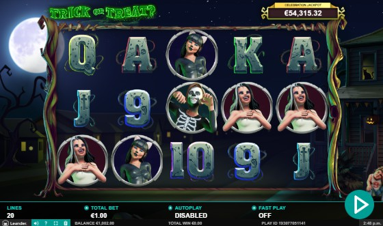 Trick or Treat slot UK
