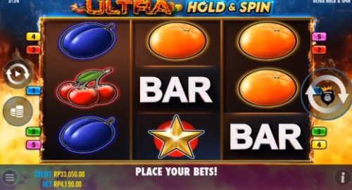 Ultra Hold & Spin slot UK