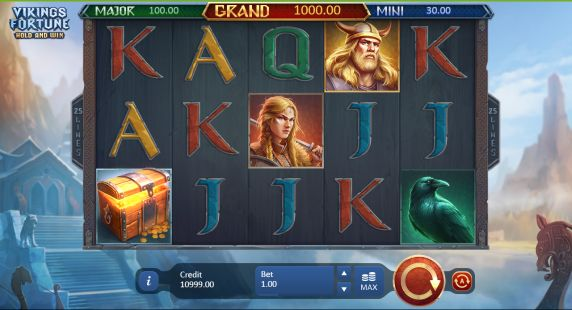 Vikings Fortune: Hold and Win slot UK