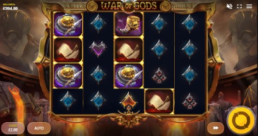 War of Gods slot UK