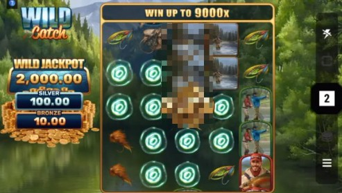 Wild Catch slot UK