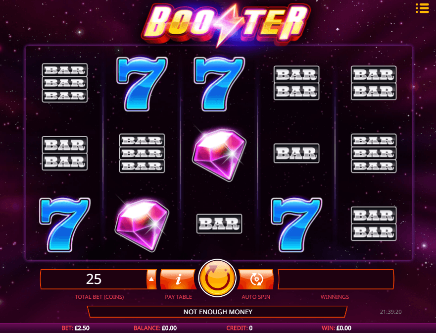 BOOSTER online slots