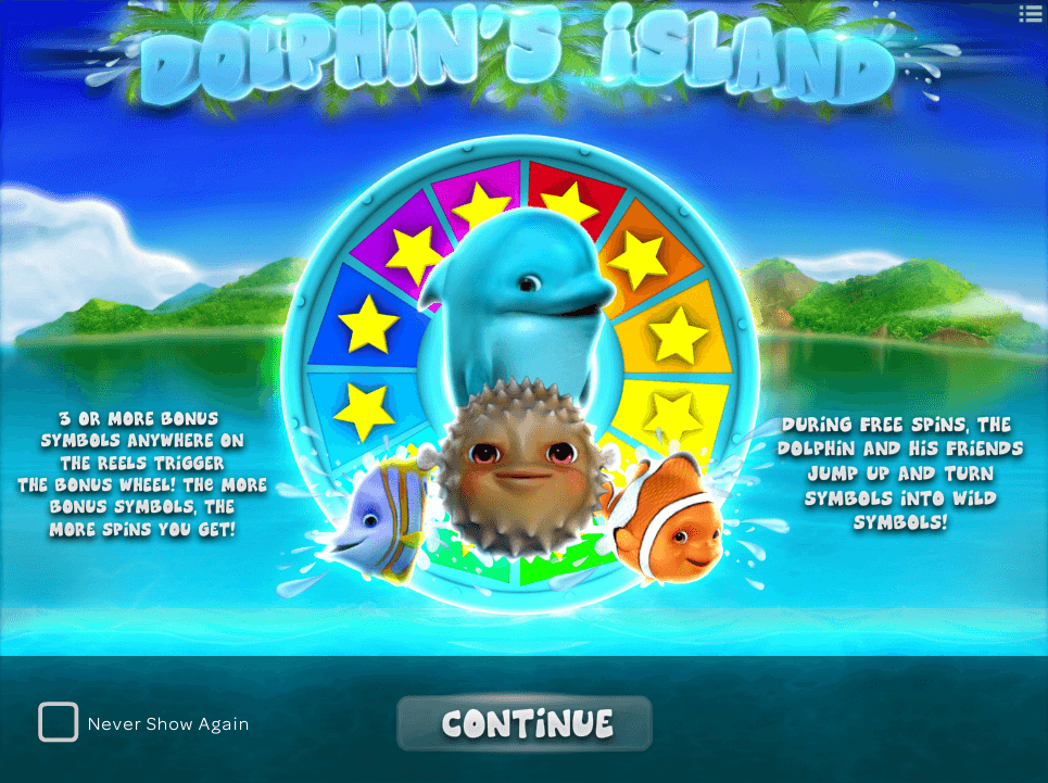 DOLPHIN S ISLAND online slots