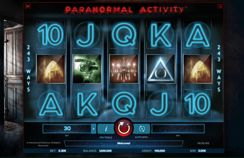 Play Paranormal Activity Slot Game | Rose Slots Online | 500